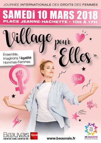 FLYER A5 Village pour Elles 2018-1
