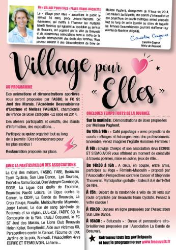 FLYER A5 Village pour Elles 20182-2